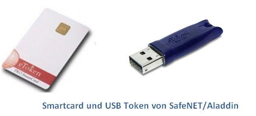 Smart Card und USB Token von SafeNET/Aladdin